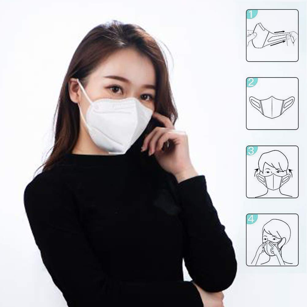 Filter Non Woven Respirator Anti Dust Face Mask N95 Pm2.5